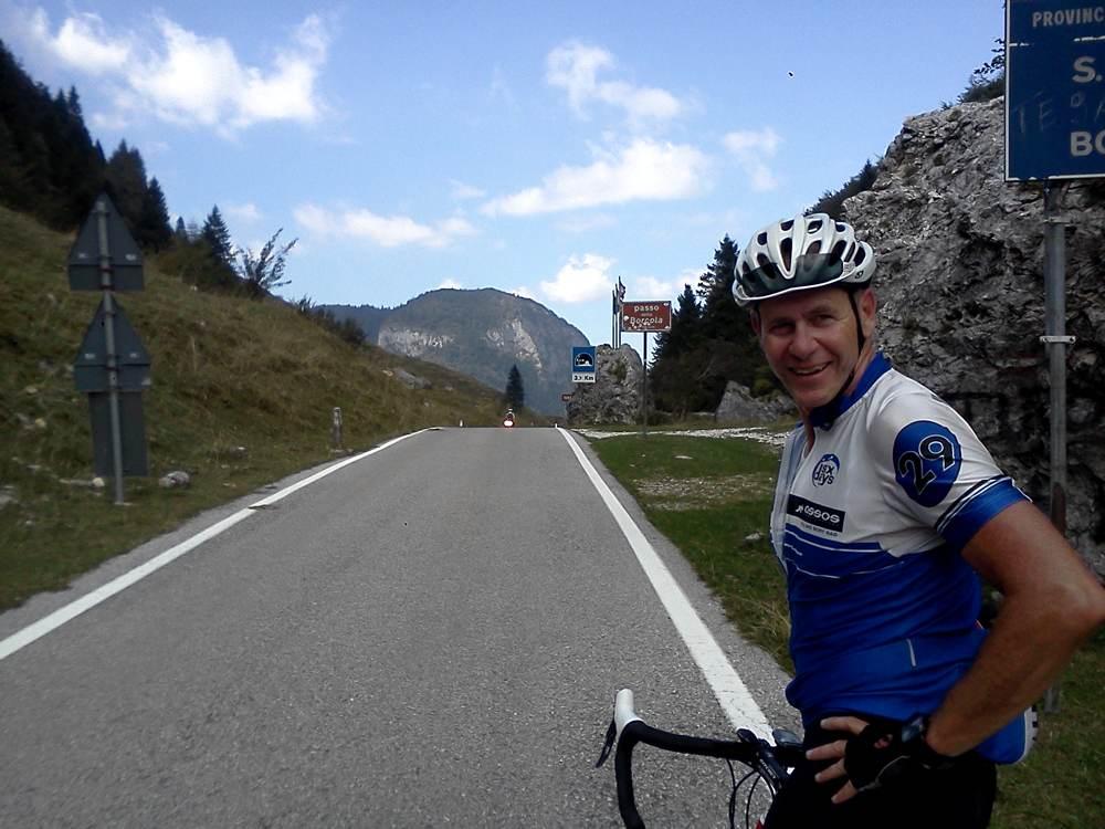 Nach der Südauffahrt zum Passo Borcola
