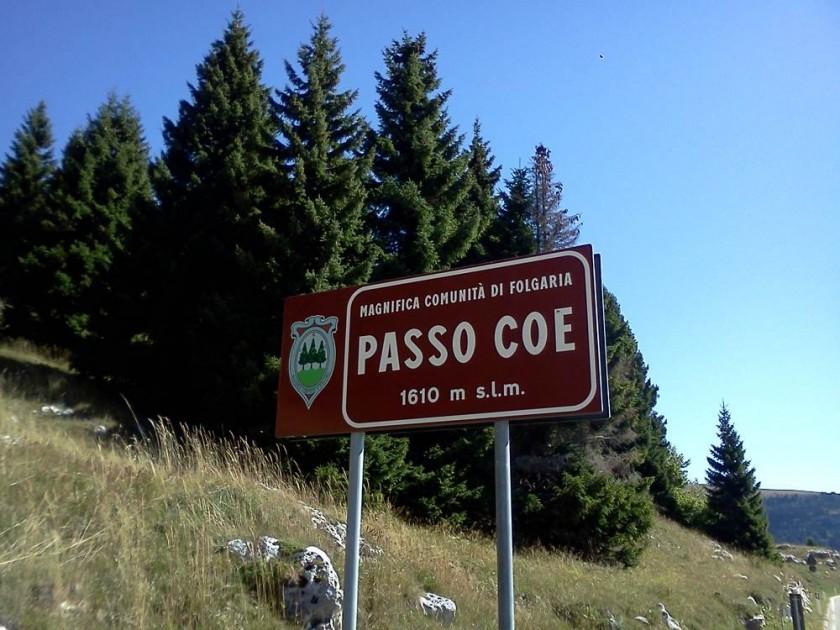 Mit dem Rennrad zum Passo Coe
