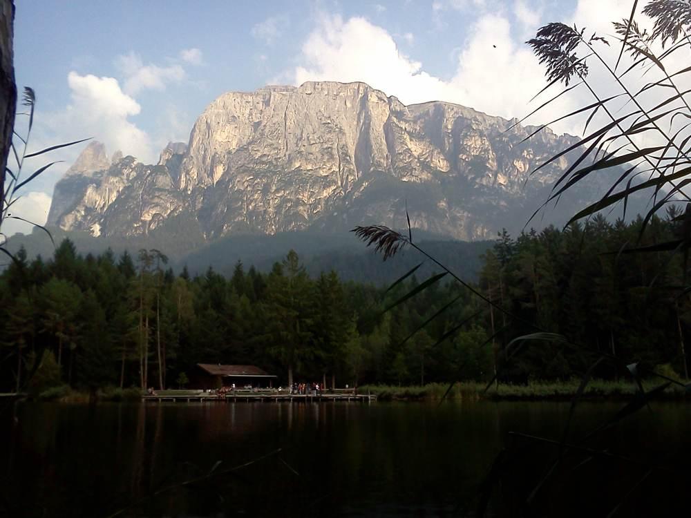 Rennradtour zum Völser Weiher am Schlern / Südtirol