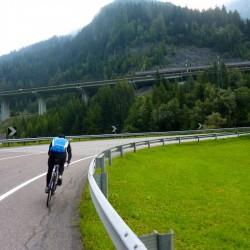 Transalp Bozen - Arget: Auffahrt Brenner