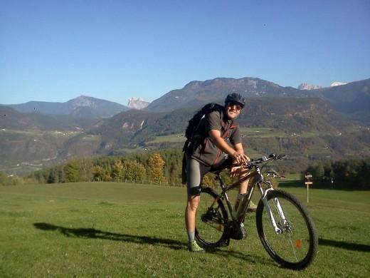 Mountainbike Local Tom kennt sich aus am Ritten
