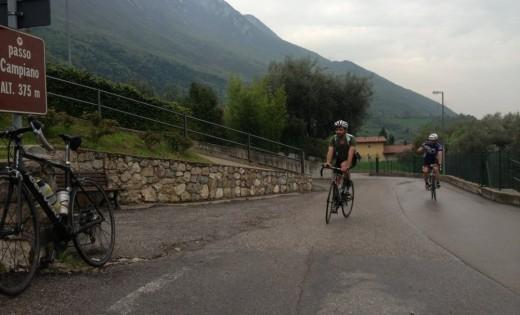 Südrampe zum Passo Campiano am Gardasee