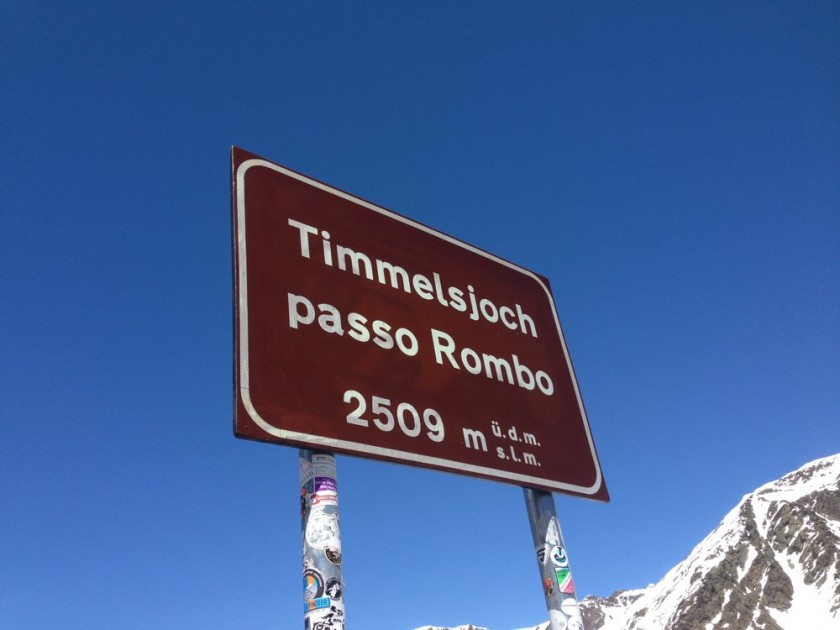 Timmelsjoch / Passo Rombo (2509m)