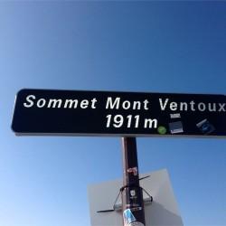 Gipfel Mont Ventoux 1911m
