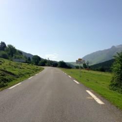 Col d'Aspin: Westanstieg
