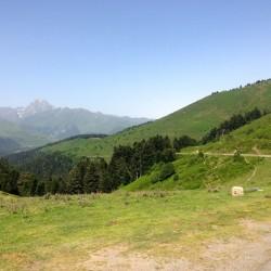 Col d'Aspin: Blick nach Westen