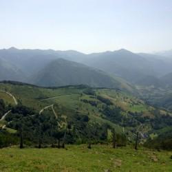 Col d'Aspin: Blick nach Arreau