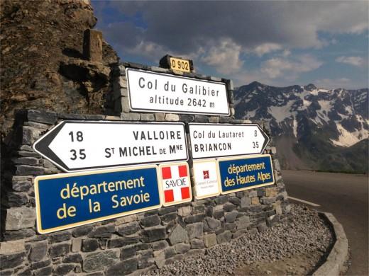 Rennradtour Col du Galibier