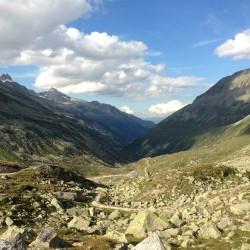 Blick nach Tirol / Österreich