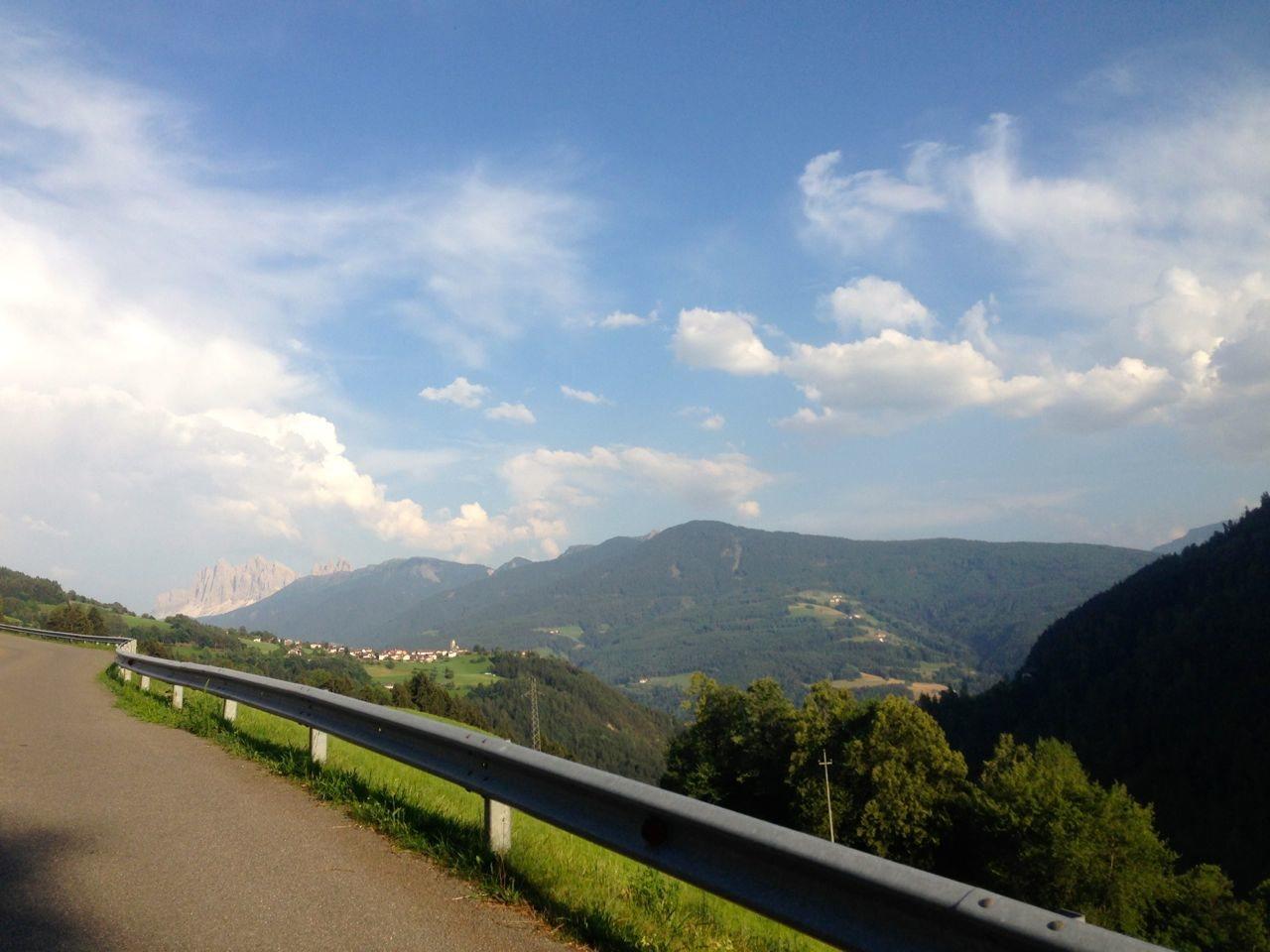 Aussicht von den Sarner Alpen in die Dolomiten