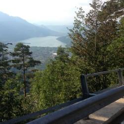 Caldonazzosee vom Kaiserjägerweg