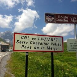 Route des Grandes Alpes über den Col du Lautaret