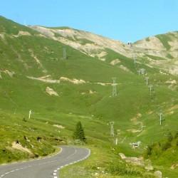 Rennradtour Pyrenäen / Blick auf den Schlußanstieg