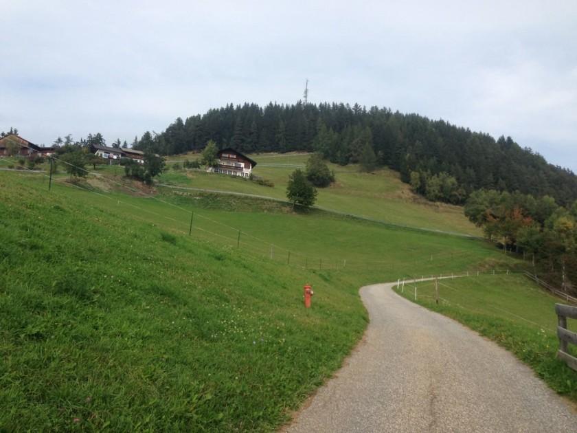 Rennradtour rund um Brixen / Anstieg Kreuz