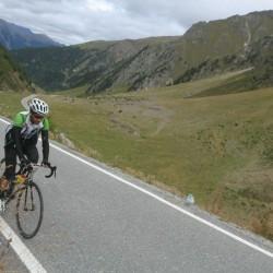 Endura Alpentraum / Hannes am Umbrailpass