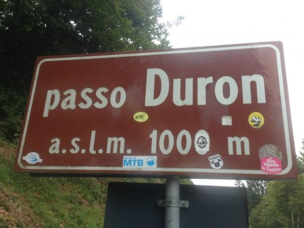 Rennradtour Trentino / Passo Duron