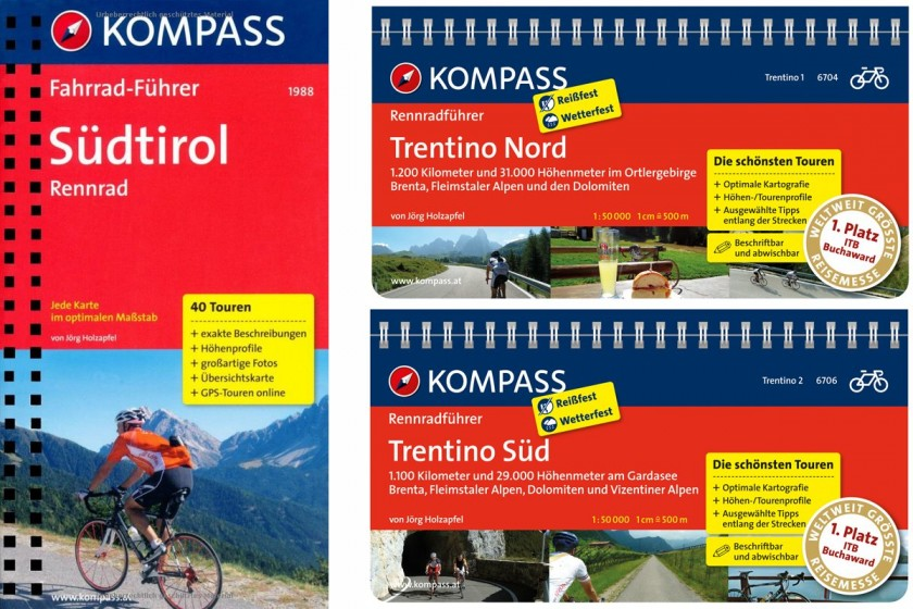 Rennradführer Südtirol / Trentino Nord / Trentino Süd
