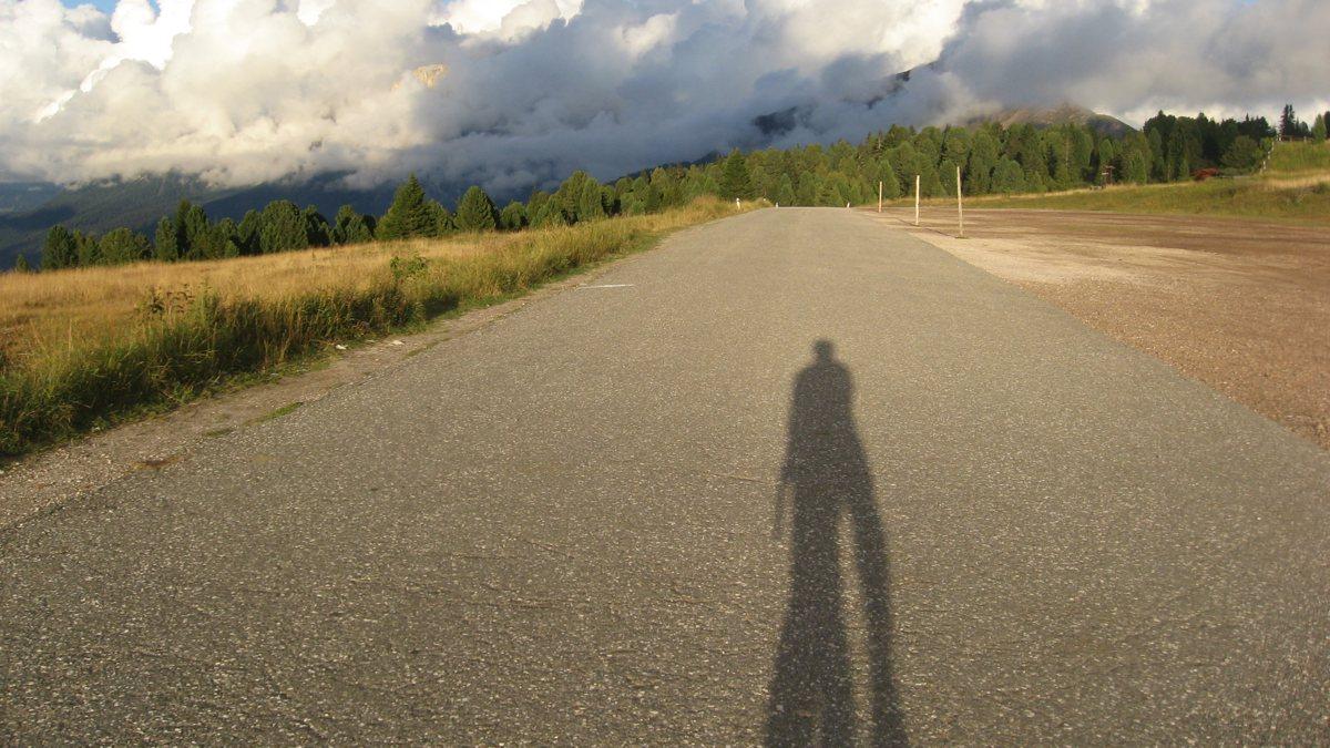 Lange Schatten am Jochrimm