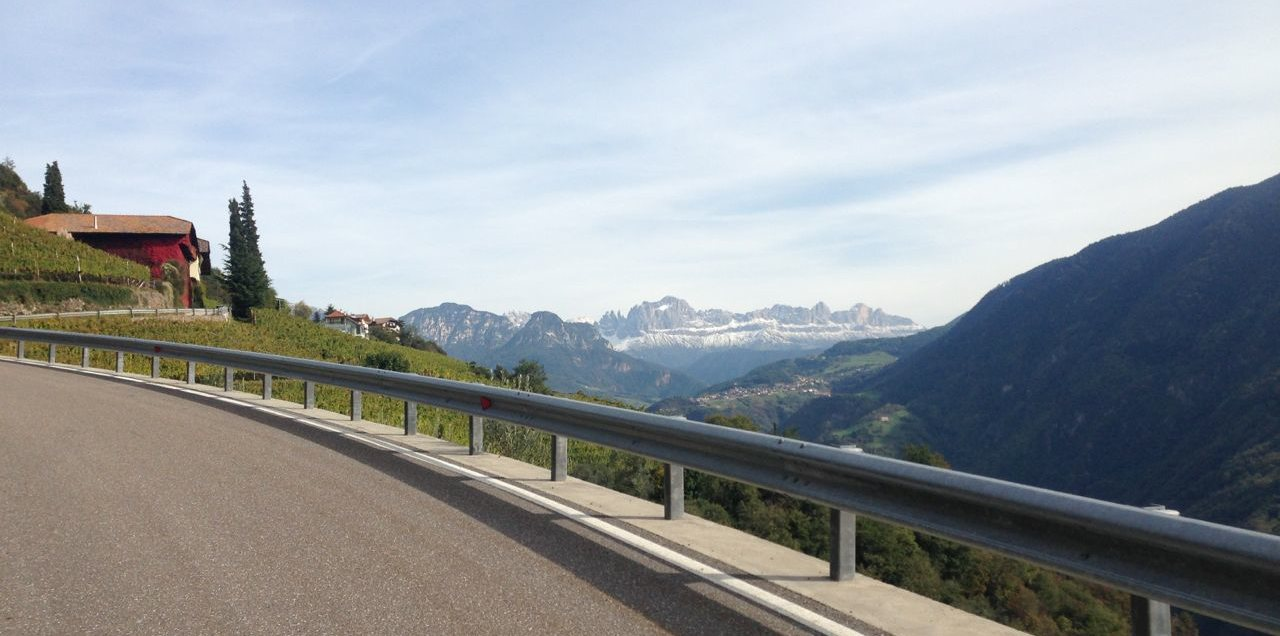 Rennradtour Oberbozen / Dolomiten