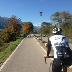 Rennradtour Vinschgau / Etschradweg