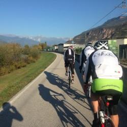 Rennradtour Vinschgau / Grupetto