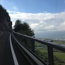 Rennradtour rund um Bozen / Richtung Passo San Lugano