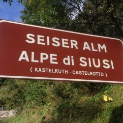 Rennradtour Eisacktal / Seiseralm