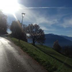 Rennradtour Meranerland / Herbst