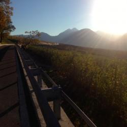 Rennradtour Meranerland / Sonne