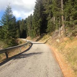 Rennradtour Villanderer Alm / Weg
