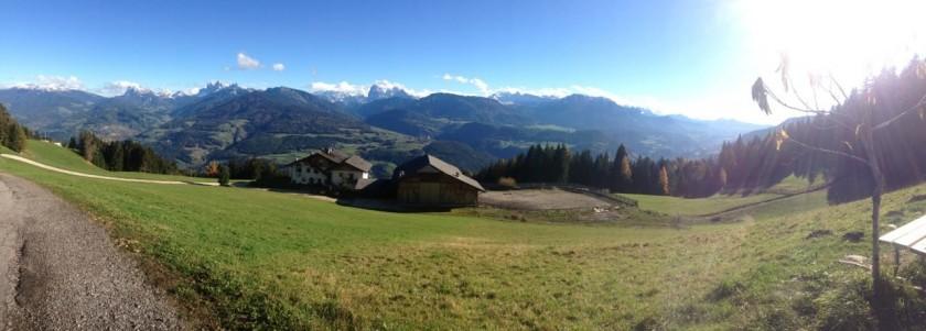 Rennradtour Villanderer Alm / Dolomitenpanorama