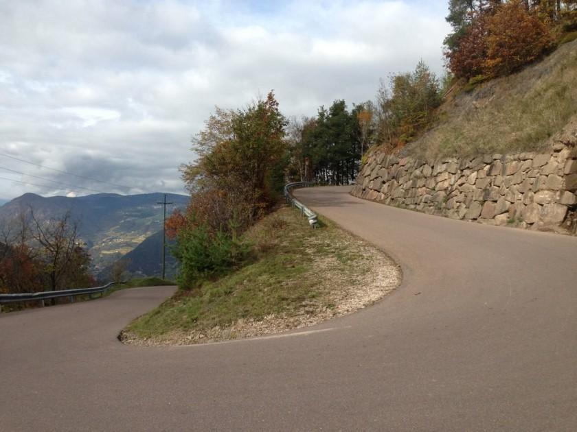 Rennradtour rund um Bozen / Kurve