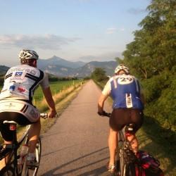 Radtour Bozen - Jesolo / Etschradweg