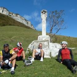 Rennradführer - Trentino - Süd / Passo San Giovanni – Bocca del Creer – Bocca di Navene – Passo del Telégrafo / Rast