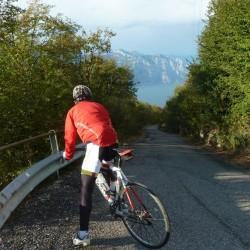 Rennradführer - Trentino - Süd / Passo San Giovanni – Bocca del Creer – Bocca di Navene – Passo del Telégrafo / Aussicht Gardasee