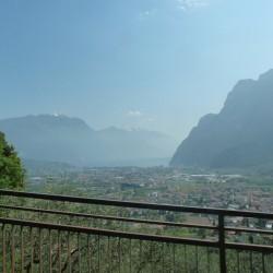 Rennradführer Trentino Süd - Passo-Ballino / Blick auf Riva