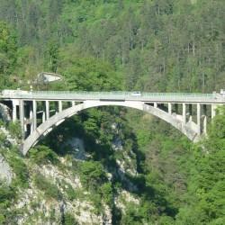 Rennradführer Trentino Süd - Passo-Ballino / Sarchebrücke