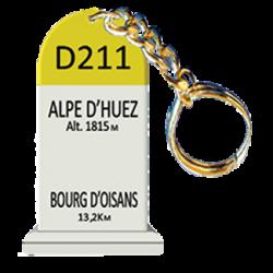 Cyclosouvenir / Schlüsselanhänger Alpe d'Huez