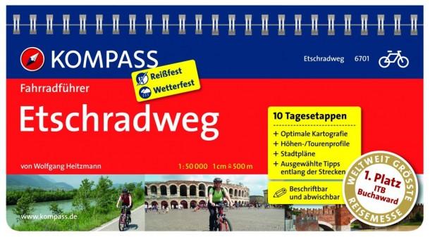 Fahrradführer Etschradweg vom Kompass Verlag