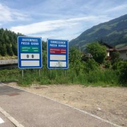 Jaufenpass - Penserjoch / Timmelsjoch noch gesperrt