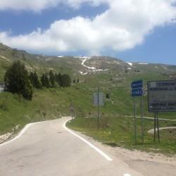 Monte Grappa / Abfahrt