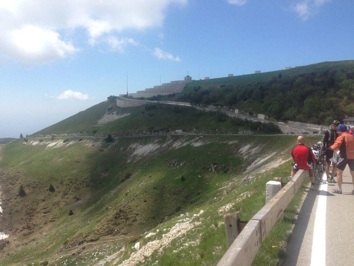 Monte Grappa / Schlussanstieg