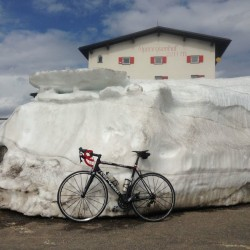 Jaufenpass - Penserjoch / Genug Schnee