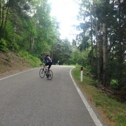 Rennradtour Vellau / Auffahrt