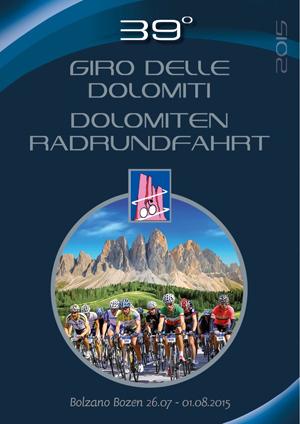 Dolomiten Radrundfahrt 2015