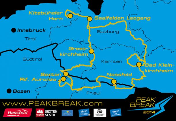 Peakbreak Strecke 2014