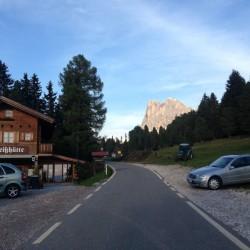Rennradtour Dolomiten / Edelweisshütte