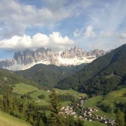 Rennradtour Dolomiten / Geisler