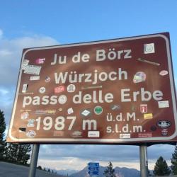 Rennradtour Dolomiten / Würzjoch