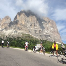 Sellaronda Bikeday 2014 / Langkofelscharte